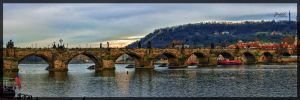Charles Bridge by deaconfrost78