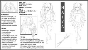 Naiya, Reference Sheet (slight edit) by sichuu