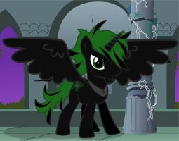 My Pony oc Prince Thorn REDONE! by Midnight-Devilwitch