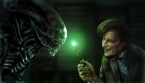 Doctor Who VS Alien by tolerdesigns