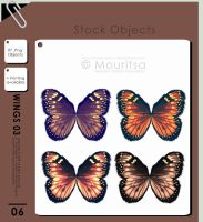 Object Pack - Wings 03 by MouritsaDA-Stock