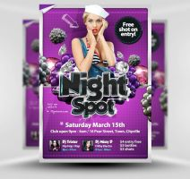 Exciting Party Flyer Template by quickandeasy1
