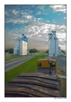 Grain Elevators by NaujTheDragonfly