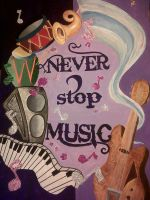 Never STOP Music by DimaCupidAngel