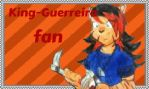 King-Guerreira fan stamp by TheWolfGirl666