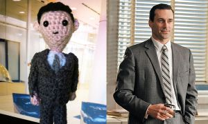 Amigurumi Mad Men: Don by smapte