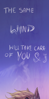 .:The Same Wind Will Take Care Of You And I :. by WierkaKita