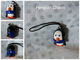 Penguin Charm by Zodiac-Salad