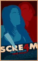 Scre4m Poster by SamRAW08