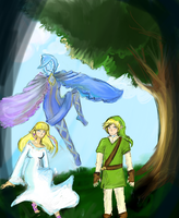 Faron woods by 98zelda