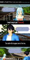 [MMD x Free!] When I see your smile... by LoverCathy