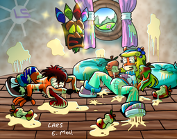A Wumpa disaster by Lars99
