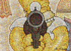 Mosaic - Homer Simpson 2 by slidewayze