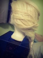 Elsa Styled Wig side view by BunnyRue