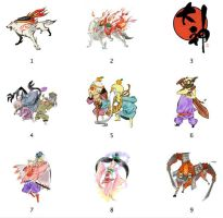 Okami Icons by markdelete