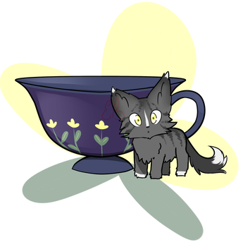 Adoptable Teacup Kitten 2 ~ ::CLOSED:: by EmilieArts