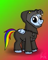 Rainbow Dash in Gorilla Suit by petirep