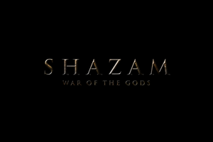 SHAZAM: WAR OF THE GODS - LOGO by MrSteiners