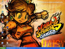 Mario Strikers Charged desktop by princessdaisyfanclub
