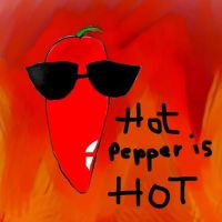 Hot pepper is HOT by fathonlou