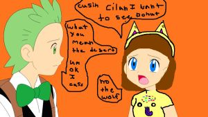 cilans cusin cassie who wants to see donut by webkinzfun8