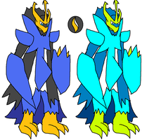 Mega Empoleon remade by YingYangHeart
