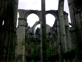 Fountains Abbey by CKTalons