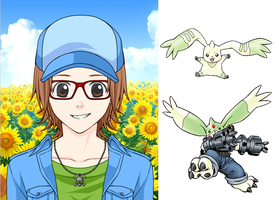 Digimon Me by dottypurrs