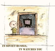 In Soviet Russia by Shilpit