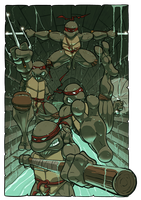 TMNT by Juggertha