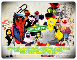 Lunchster Street by nanomeow