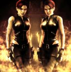 TR Lara and Doppelganger 6 by typeATS