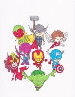 AVENGERS by hclix
