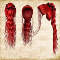 Hair Pack 11 by Just-A-Little-Knotty