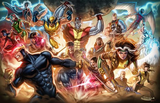 XMEN Print for shows by Sajad126