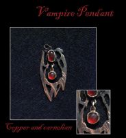 Vampire Pendant by windfalcon