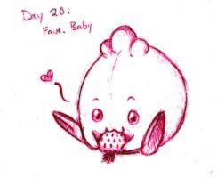 Pokedex Challenge: Day 20 - Favorite Baby by SailorAnime