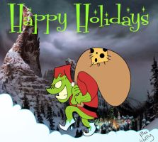 Happy holidays from The Grinch by MacWaffly