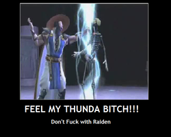MK: Raiden Moivation by Halowing