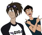Andy and Dean being stupid dorks (normal vers.) by dreamer45