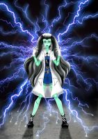 Monster High - Frankie Stein by LindaNoul