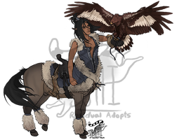 Centaur - Falconer [Auction: Closed] by ResidualAdopts