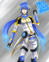 Kaito Shion Append Colored by AishaxNekox