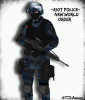 New World Order -Riot Police- Concept by Milosh--Andrich