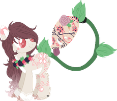 Floral Plant Pony -closed- by mondobutt