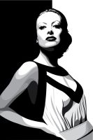 Joan Crawford by pin-n-needles