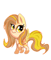 Pixel Chibi  Illumabelle (gif) by Sketchy-The-Pony