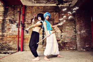 Aladdin and Judal Cosplay by LauraNikoPhantomhive