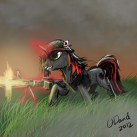 Soldier Mane Shaker by duh-veed