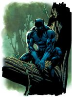Black Panther by MarkHRoberts